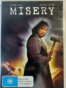 Stephen King's Misery DVD Kathy Bates Horror Thriller Free Postage
