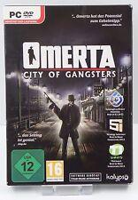 PC Spiel - Omerta City of Gangsters - NEU NEW OVP