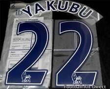 Everton Yakubu 22 Premier League Football Shirt Name Set Lextra /senscilia