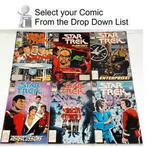 1989-1996 Star Trek DC Series 2 Comic Book Collection- 80+ Issues—> Your Choice