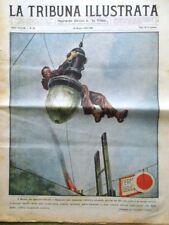 La Tribuna Illustrata 18 Maggio 1930 Charlot Mussolini Toscana Re Catania Praga