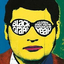 It's Great When You're Straight Black Grape Deluxe 2 CD DVD 2016 Signed RARE