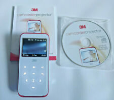 3M Mini Portable Pocket Projector / Camcorder - CP45 - SVGA Pico - with CD
