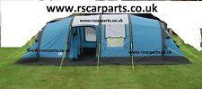 Royal Atlanta Air Inflatable 8 Berth Tent Family Weekend Group Camping 302618