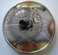 2009 CANADA 100th ANNIVERSARY OF FLIGHT IN CANADA BU SILVER DOLLAR COIN