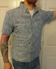 Pretty Green Floral Paisley Shirt - Size M (may fit S) Slim Fit *FREE UK P&P*
