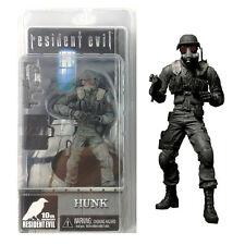 Neca 10th Anniversary Resident Evil Biohazard Hunk Capcom Action Figure Game Toy