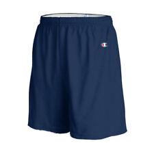 Champion Men's 6.1 Oz Cotton Jersey Big Size Shorts With Drawstring 8187 3xl Navy