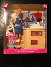 Vintage 1997 Mattel Cool Shoppin' Barbie with Cash Register! #17487 NIB/NRFB
