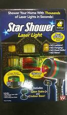 Star Shower Laser Light Show Red and Green Indoor Outdoor As Seen On TV