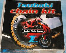 kit chaîne TSUBAKI ALPHA XRG GOLD 15x46 SUZUKI GSXR 600 de 1998/2000 neuf