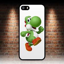 Yoshi Super Mario Nintendo teléfono caso IPHONE 4 4S 5 5S SE 5C 6S 7 8 Plus X 6