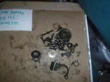 Yamaha 1980  YZ 125G yz 125 Misc. screws spring gear parts
