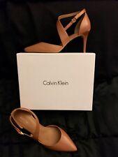 Calvin Klein - Gildana (Caramel/tan) women's pumps stiletto Heels Size 10 NIB