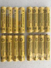 16-pcs1.2v AAA (800mAh) Ni-Cd Rechargeable Battery For Solar Light