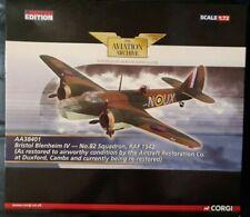 Corgi Aviation Bristol Blenheim  IV No.82 Squadron RAF 1942 Duxford AA38401