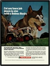 1971 Bolens Model 1256 Husky Lawn Mowers,Garden Tractors New Metal Sign