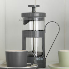 La Cafetiere Monaco Cool Grey Stainless Steel French Press Coffee Pot Jug Boxed