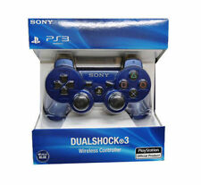 Blue DualShock 3 Wireless Sixaxis PS3 Controller for PlayStation 3