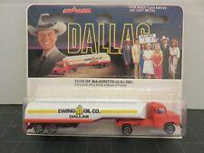 Majorette Dallas Scania Ewing Oil Tank 1/100 Die-Cast Metal France A