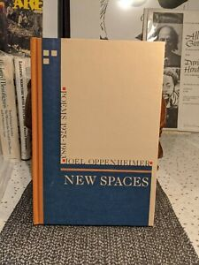 Joel Oppenheimer New Spaces 23/150 Signed Black Sparrow  #Black Mountain Poets