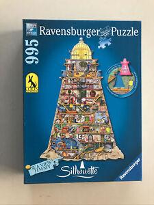 Ludicrous Lighthouse- Ravensburger 995 Piece Shaped Jigsaw Puzzle.