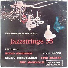 """JAZZ STRINGS 58"""" Svend Asmussen, et al SONET Jazz EP Denmark NM- 45"""