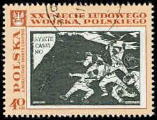 Scott # 1613 - 1968 - ' Monte Cassino, by A Boratynski ', Polish Peoples Army