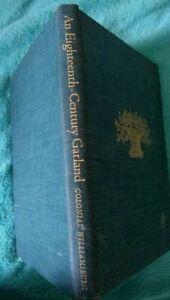 18th CENTURY GARLAND Flower Arrangements COLONIAL WILLIAMSBURG HISTORY