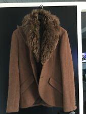 Ralph Lauren Blazer Wolle Lammwolle Alpaca Grösse 38 Braun Rostfarben