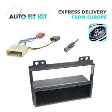 Ford Fiesta Fusion 1 Din Single DIN Fascia Radio Stereo Replacement Kit Fakra