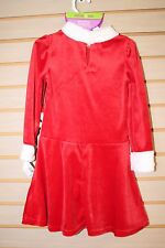 NEW DOLLIE & ME GIRLS SIZE 5 CHRISTMAS HOLIDAY DRESS W DOLL DRESS OUTFIT SANTA