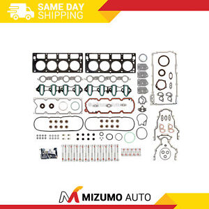 Full Gasket Set Head Bolts Fit 05-11 Chevrolet GMC Buick Cadillac 4.8 5.3