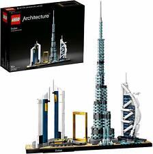 LEGO 21052 Architecture Dubai Model Skyline Landmarks Collectible Building Set