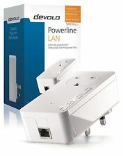 DEVOLO 9371 POWERLINE DLAN 1200 PLUS GIGABYTE ETHERNET SINGLE ADD-ON ADAPTER