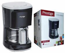 Prestige AROMA 10 TAZZA CAFFETTIERA │ indicatore di livello dell/'acqua │ in acciaio inossidabile spazzolato