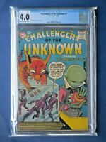 Challengers of the Unknown 1 - CGC 4.0 - 1958 Classic Jack Kirby Sci-Fi Premiere