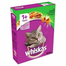 Whiskas Cat Complete Dry with Lamb 825g