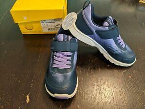 NIB Tsukihoshi Turbo Purple/Navy Girl's Sneakers 12