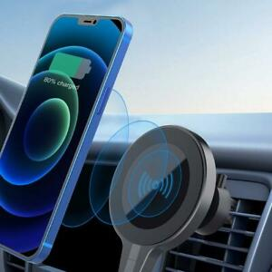 Magnetic Wireless Car Chargers Mount Holders For