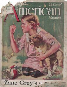 1926 American November - Zane Grey; Hounds; Charles Livingston Bull; Blind build