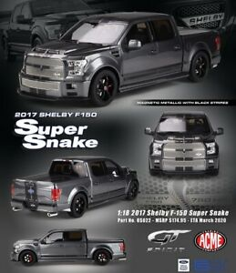 GT Spirit/ACME USA Exclusive Ford Shelby F-150 Super Snake Pickup Truck 1:18