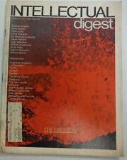 Intellectual Digest Magazine Eugene Ionesco & Anne Sexton March 1972 052515R