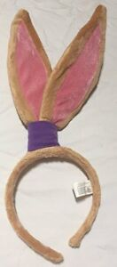 Looney Tunes Lola Bunny Ears Head Band Headband Rare Halloween Costume Accessory