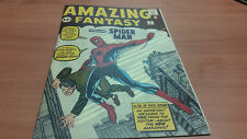 Reprint Amazing Fantasy 15 Custom Made Cover with 1964 Reprint 1st Spiderman