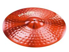 "Paiste Color Sound 900 Series Red 24"" Mega Ride Cymbal/Free Stick Bag-Sticks"