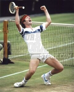 John McEnroe net celebration  8x10 11x14 16x20 photo 618