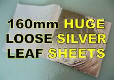 25x Silver Loose Leaf Sheets in Booklets, 160mm! Gilding Crafts Scrapbooking