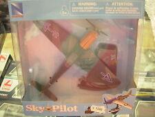 NEW RAY SKY PILOT AVION GIA' MONTÉ AVEC SOUTIEN BF-109 ART. 20213