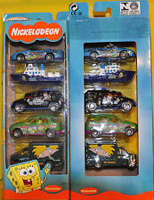 MATCHBOX NICKELODEAN 5 PACK CAR SET 91534 (NEW/SEALED/RARE)